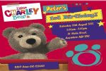 Personalised Charley Bear Invitations